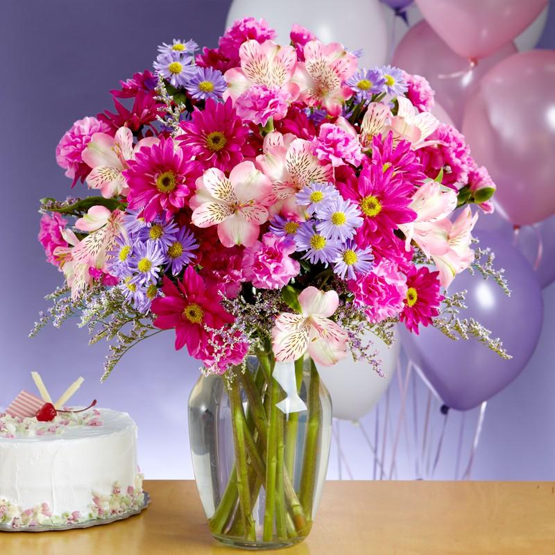 Открытки с днем рождения необычные букеты, роскошной женщине